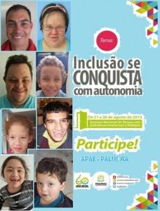 Semana Nacional APAE cartaz