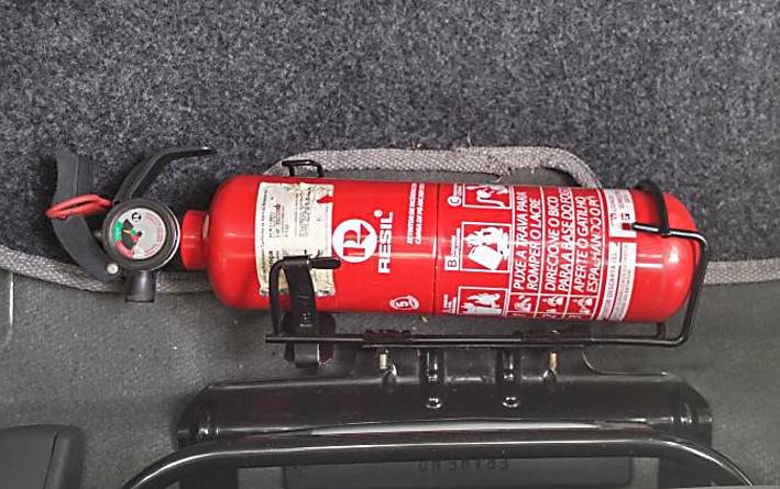 Extintor de incêndio int