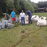 Rio Iguaçu limpeza