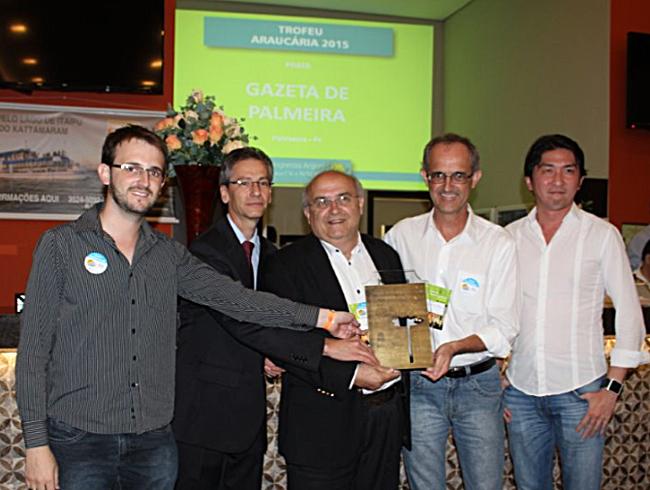 Troféu Araucária entrega cópia