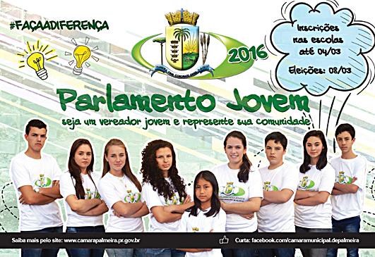 Parlamento Jovem cartaz int