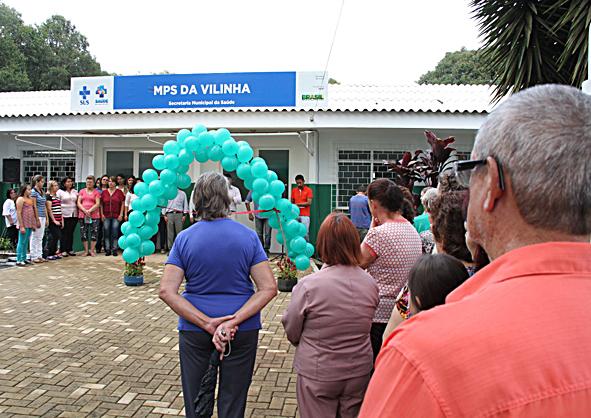 UBS Vilinha inauguração