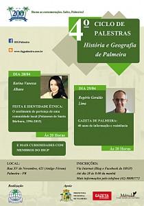 Ciclo de Palestras IHGP int