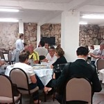 Simpósio Colônia Cecília jantar