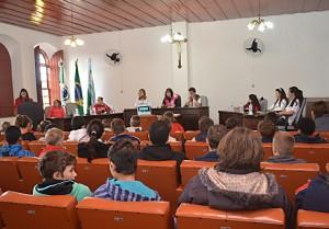 Parlamento Jovem sessão