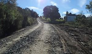 Estrada rural readequação 1