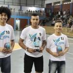 Da esquerda para direita Miguel Dzulinski (3º), Leandro Santana Souza (Garoto Jepal 2016) e Ivoneu Augusto Ruppel (2°)