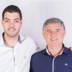 Da esquerda p/ direita - Roberto Garret Filho e Antonio Altair Polato