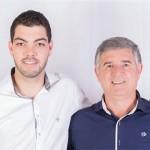 Da esq. p/ dir.: Roberto Garret Filho e Antônio Polato