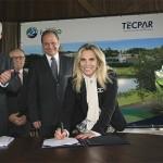 Assinatura contrato Tecpar