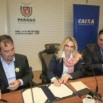 Assinatura CEF e COHAPAR