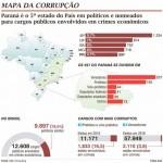 Mapa da corrupção