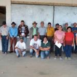 Membros da APRI, Sindicato, AS-PTA e Projeto de Diversificação.