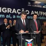 Governador Beto Ricua a Ministro Gilberto Kassak