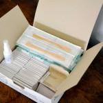 Kits para exames de saúde Papanicolau.Foto: Divulgação SESA