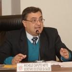 Secretário de Estado da Saúde Michele Caputo Neto