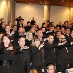 31/05/2017 - Fernanda Richa participa da solenidade de formatura