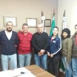Reunião com entidades parceiras AS-PTA, UEPG, Sindicato e Coaftril e Prefeito Municipal Abimael do Valle.