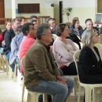 Mais de 50 pessoas participaram da reunião no Salão Paroquial