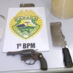 arma e droga