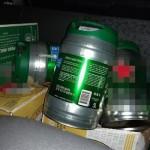 Barris foram furtados de cervejaria em Ponta Grossa
