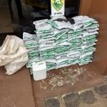 PM apreendeu 85 pacotes de agrotóxicos de origem estrangeira