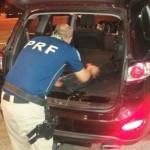 Jovem é preso pela PRF em São Luiz do Purunã transportando crack e maconha