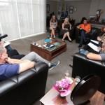Reunião sobre Maria da Penha em PG