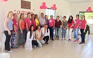 Outubro Rosa em Porto Amazonas