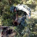 Polícia Ambiental realiza fiscalização em Mandaçaia (1)