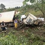 Acidente vom caminhão de na BR 277 na Vaca Morta_2