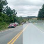 Caminhão tomba na PR 151_próximo à Serrinha_2