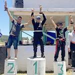 Hamilton Morsch -Polaco-campeão da categoria Chevlight-pódio