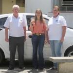Provedor, Gisele e Christine presidente do Lions