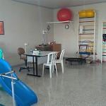 APAE sala de fisioterapia