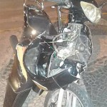 Acidente moto X carro na rua 15 com sete de abril_2
