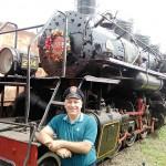 Marcio Assad - Pioneiro em turismo férreo no Brasil ( hoje diretor de turismo da Lapa)