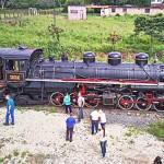 Maria Fumaça - Estação Ferroviária da Lapa