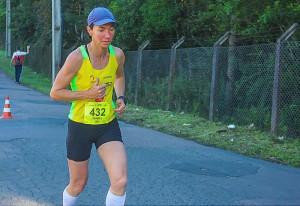 Isabel Passoni participou da 93ª corrida de São Silvestre