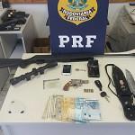 PRF prende assaltantes próximo ao pedágio de Witmarsum em Palmeira_3