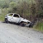 Veículo incendiado 1