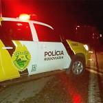 Acidente PR 151 caminhão de toras _4