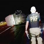 Acidente na BR 277 caminhão e Van_2