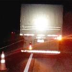 Acidente na BR 277 caminhão e Van_4
