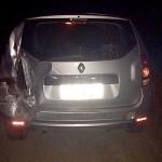 Acidente na PR 151 com carro e ônibus que ia para o Chile_Duster
