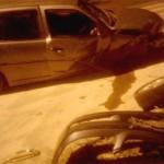 Colisão auto X auto na Avenida Daniel Mansani_1