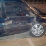 Colisão auto X auto na Avenida Daniel Mansani_2