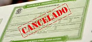 Título Eleitoral Cancelado