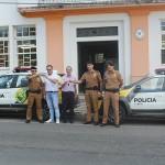 Viaturas da PM_foto_ Prefeitura de Palmeira