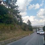 Caminhão quebrado na PR 151 em Palmeira causa congestionamento_2